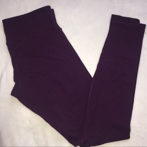 lululemon Low Rise Wunder Under 28""